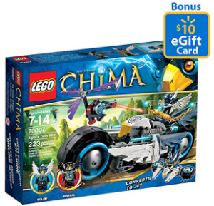 Lego Sets With Free Walmart Gift Cards City Chima